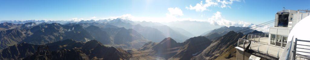 Vue du Pic du Midi !