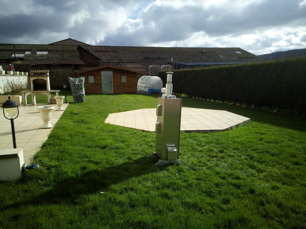 Un jardin côté fonderie
